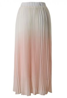 ružová ombre sukňa / ombre pink skirt.
