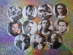 "River Phoenix 2-1/4"" Magnets by GalaxyGirlPins on Etsy https://www.etsy.com/ca/listing/248098267/river-phoenix-2-14-magnets"