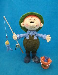 Fisherman Knitting pattern by Larisa Kostyleva