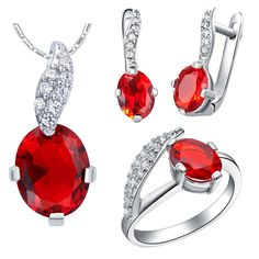 Find More Jewelry Sets Information about Ruby Jewelry Sets Women Wedding Conjuntos Joyas De Plata Silver Plated Sapphire Necklace Set Bijoux Purple CZ Diamond Ring T224,High Quality jewelry scarf,China jewelry mannequin Suppliers, Cheap jewelry nurse from ULove Fashion Jewelry Store on Aliexpress.com