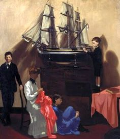Mabel Nicholson: overlooked talent and mother of a British art dynasty William Nicholson, Tate Britain, Art Uk, Married Woman, Great Women, Model Ships, Kirchen, First World, The Twenties