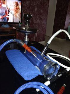 stoli liquor bottle hookah #hookah #shisha #vapor #DIY