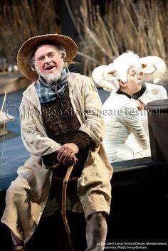 Oregon Shakespeare Festival. AS YOU LIKE IT (2012): Richard Elmore, Mandie Jenson, Liisa Ivary. Photo: Jenny Graham.