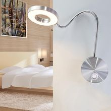 Best Price for LED Hoses Wall Lamp Flexible Home Hotel Bedside Reading Wall Light Modern Fashion Book Lights Aluminum Bedside Reading Lamps, Bedside Lighting, Bedside Table Lamps, Wall Sconce Lighting, Mirror With Led Lights, Led Wall Lights, Reading Wall, Led Wall Lamp, 5 W