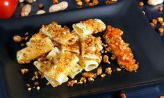 Receta de Pasta salteada con frutos secos