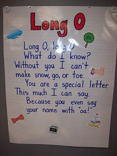 Mrs. Terhune's First Grade Site!: Anchor Charts Long O, Go To www.likegossip.com to get more Gossip News!