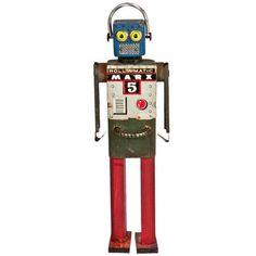 Folk Art Robot #778 Twink now featured on Fab.