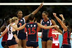 US women's volleyball team had an impressive win over brazil this morning!