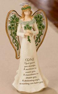 Celtic Traditions Figurine, Guarding Angel