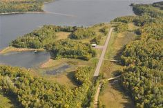 Private airstrip. Bucket list item.