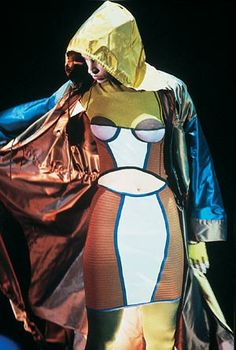 1990 - Jean Paul Gaultier show. Methinks Muiccia Prada ripped this look for her SS14 line.