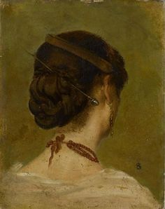 Cave to Canvas, Alfred Stevens, Head of a Woman, n.d.