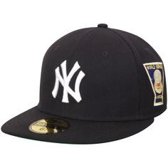 New York Yankees New Era Cooperstown Collection Fitted Hat - Navy - $20.89