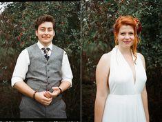 svatební foto na film Vest, Wedding Photography, Film, Jackets, Dresses, Fashion, Movie, Down Jackets, Vestidos