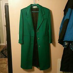 Ashley Scott 100% wool coat - vintage 90s Lined - no size tags, but fits like medium. Made in USA. Ashley Scott Jackets & Coats Pea Coats