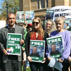 Global Day of Solidarity for the Arctic 30, Saturday 5 October 2013: Hobart helping kick off the Global Day of Solidarity for the Arctic 30. #FreeTheArctic30