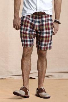 Men's Beachside Linen Shorts