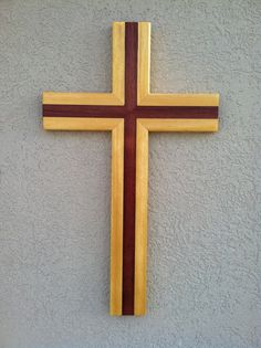Hand Made Wood Cross by CreativePenDesign on Etsy, $45.00