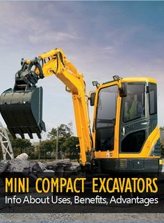 Learn benefits, advantages and uses of mini compact excavators in heavy duty construction and mining applications. #construction #heavyduty #constructionmachines #constructionequipment #excavator