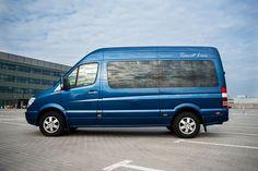 Bus marki Mercedes Sprinet, 9 skórzanych foteli, nagłośnienie, nawiewy, dostępny na http://www.dar-trans.pl/