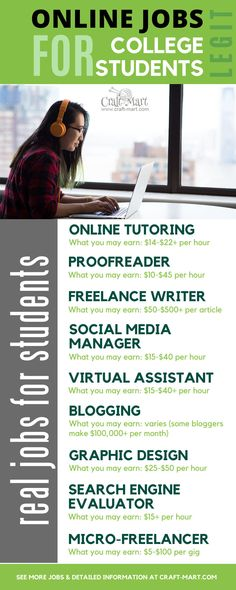 If you are looking for legit online jobs for college students read this post featuring multiple resources and helpful information about hiring companies and courses. Earn More Money, Ways To Earn Money, Earn Money Online, Way To Make Money, Earning Money, Cash From Home, Earn Money From Home, Work From Home Jobs, Composition D'image