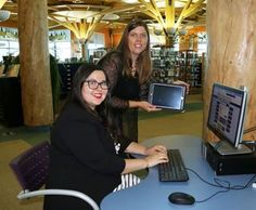 They've just turned a new page -- technology wise -- at the Timmins Public Library.