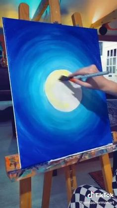 Small Canvas Paintings, Easy Canvas Art, Small Canvas Art, Easy Canvas Painting, Pintura Graffiti, Arte Van Gogh, Art Painting Gallery, Canvas Painting Tutorials, Art Drawings Sketches Simple