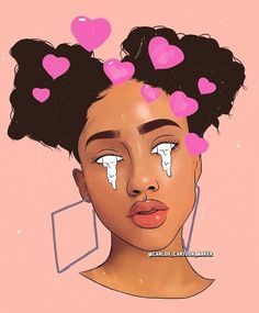 ღ dope cartoons, dope cartoon art Black Girl Cartoon, Dope Cartoon Art, Dope Cartoons, Cartoon Drawings, Cartoon Girls, Black Love Art, Black Girl Art, Black Girl Magic, Art Girl