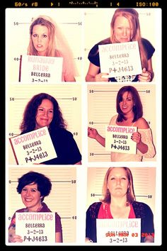 Peggy's Bachelorette Party Mugshots #casino