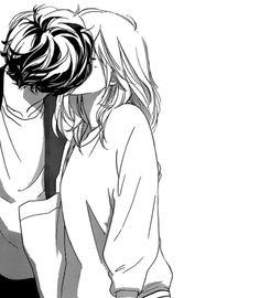 Imagen de kiss, anime, and manga