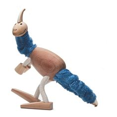 Anamalz Wooden Parasaurolophus -   Environmentally friendly wooden dinosaur with bendy legs. This Wooden Dinosaur Parasaurolophus is a beautifully crafted environmentally friendly toy.