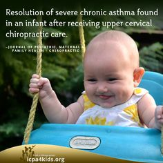 Does your child suffer from asthma? Have you gotten them adjusted? http://thegoodlifechiropractic.com
