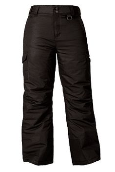 Arctix Kids Snowsports Cargo Snow Pants with Articulated Knees Best Snowboard Pants, Outdoor Chair Covers, Look Good Feel Good, Snow Pants, Parachute Pants, Diving, Coloring Books, Black, Kids