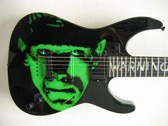 Kirk Hammett's - Frankenstein Guitar