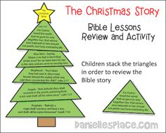 the christmas story bible lesson review and game from wwwdaniellesplacecom sunday school