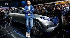 Mercedes' Tesla rivalisierenden EQ SUV-Konzept ist das erste Zeichen einer neuen Elektro-Ära Concepts Electric Vehicles Galleries Mercedes Mercedes Concept Paris Auto Show Top 5