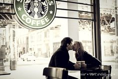 Starbucks, special moment... :)