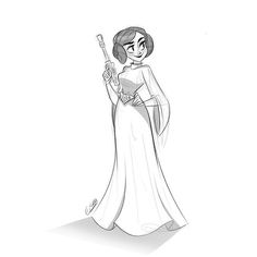 May the force be with you Carrie Fisher, you'll be missed #princess #leia #starwars #restinpeace #drawing #art #doodle #illustration #sketch