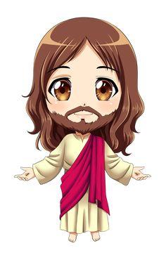 the infant jesus by Dark-kanita on DeviantArt Christian Drawings, Christian Art, Chibi, Miséricorde Divine, Jesus Cartoon, Jesus Drawings, The Lord, Lord And Savior, Jesus Christ Images