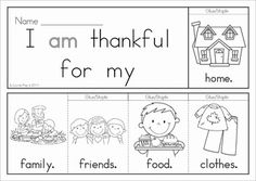 Thanksgiving Flip Books - Kindergarten & First Grade (colored black and white). Includes a journal / writing sheet and a recording sheet for each booklet so kids can write their favorite sentences. Great paper saving alternative to traditional readers!