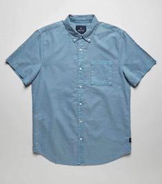 af643745ef Well Worn Oxford Men s Button Up Shirt – Roark Mens Button Up