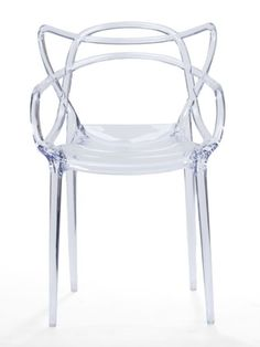Spark Clear Chair | Modern Furniture • Brickell Collection