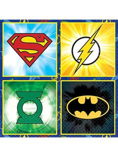 Shopping for Justice League Beverage Napkins (16 Count) for your next bash? Locate Birthday in a Box for the best selling themed tableware and party invitations and bargain prices.