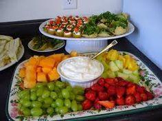 Image result for food baby shower