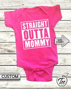 Infant Totally Straight Outta Hufflepuff Cute Baby Onesie Bodysuit