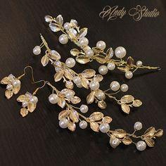 複古金色樹葉子巴洛克金屬發飾耳環新娘頭飾發飾品套裝高貴歐美風-淘寶台灣,萬能的淘寶