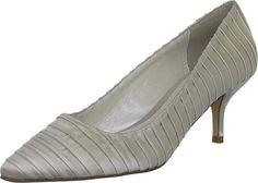 Pumps  Schuhe & Handtaschen, Schuhe, Damen, Pumps Pumps, Partner, Kitten Heels, Peep Toe, Shoes, Link, Wedding, Fashion, Ivory