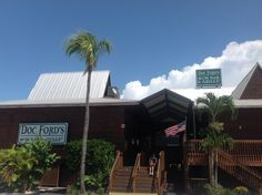 Doc Ford's Ft Myers Beach. Gotta try the Drunken Parrot Carrot Cake