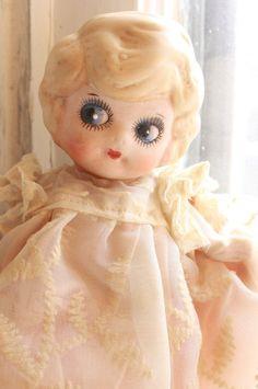 Antique  Cupie Dolls | Antique bisque cupie doll #Dolls #Vintage