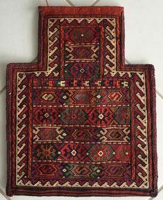 Perser Kurden Persien Nomaden Sumahk Kelim Salztasche 50x35 Persian Salt bag